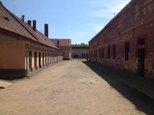Cell blocks of Terezin's smaller fortress